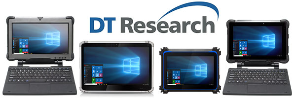 Group Mobile Features Four New Industrial Rugged Tablets from DTResearch