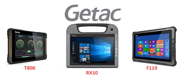Getac F110, RX10 and T800 Fully Rugged Tablets  — A Review