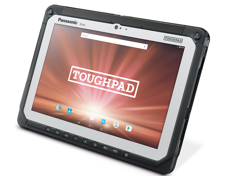 A Comprehensive Review and Specifications on the New Enterprise- Friendly Panasonic Toughpad FZ-A2 Rugged Tablet!