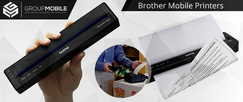 Brother Mobile Printers — Designed to Improve Efficiency, Boost Productivity, and Enhance Customer Satisfaction
