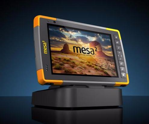 Take Your Office Anywhere — Juniper Mesa 2 RuggedTablet
