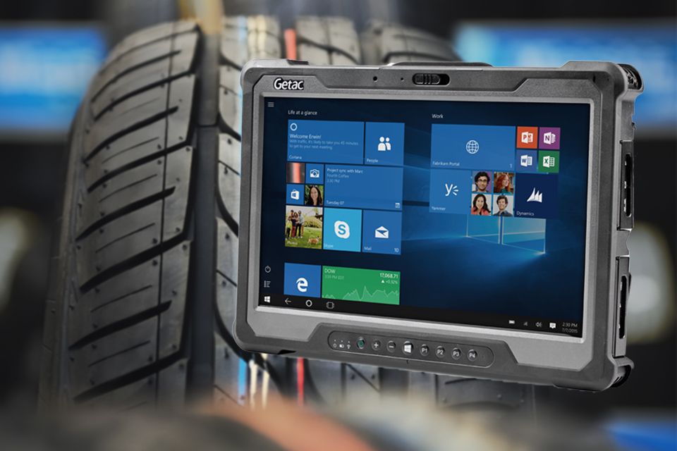 Mobile Computing Solutions for Automotive Manufacturing and a Review on Getac's New A140 RuggedTablet!