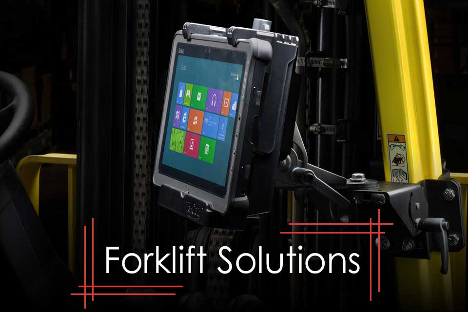 Rugged Tablet Solutions for Forklifts