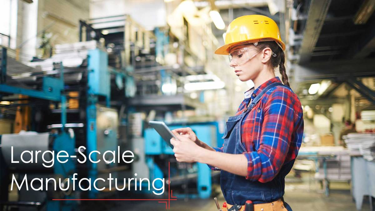 The Impact of Mobile Technologies in Large-Scale Manufacturing