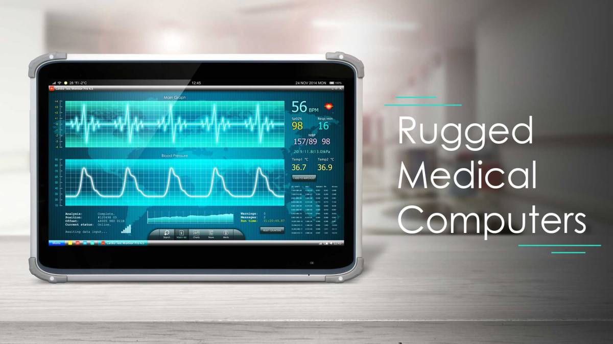 Advantages of Rugged Medical Computers in Healthcare