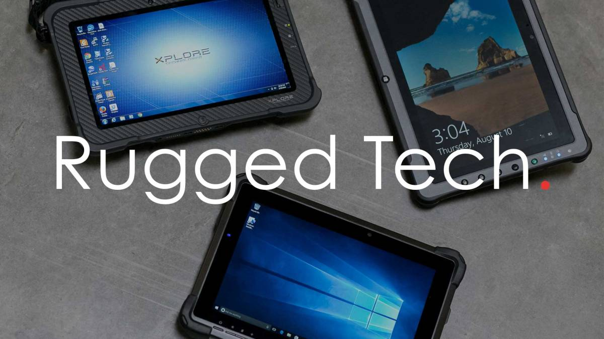 The Most Common Types of Rugged Technology